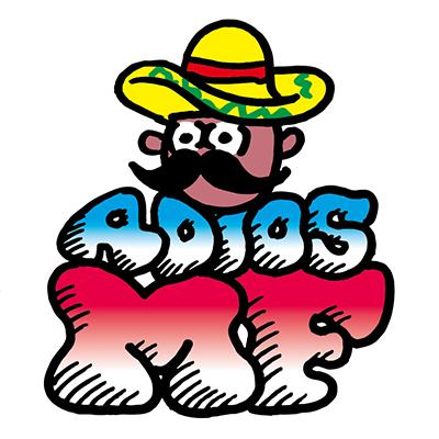 ADIOS MxFx ロゴステッカー